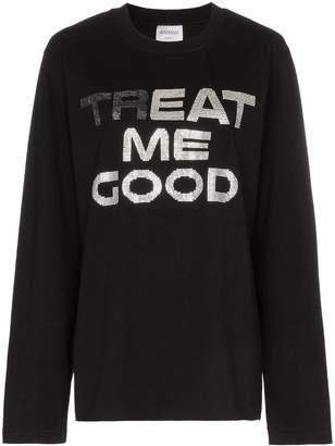 Ashish treat me good cotton sweatshirt