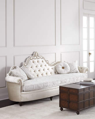 Haute House Josephine Tufted Back Sofa 111""