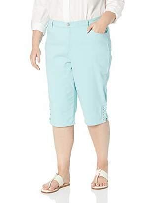 Gloria Vanderbilt Women's Petite Amanda Skimmer Short