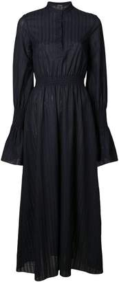 ADAM by Adam Lippes smocked waist long dress