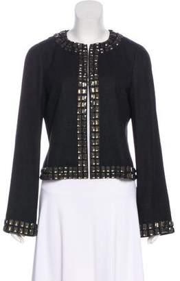 Tory Burch Wool Embellished Jacket