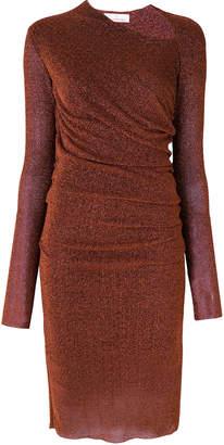 A.F.Vandevorst asymmetric scoop neck dress