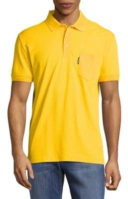 Solid Cotton Polo $135 thestylecure.com