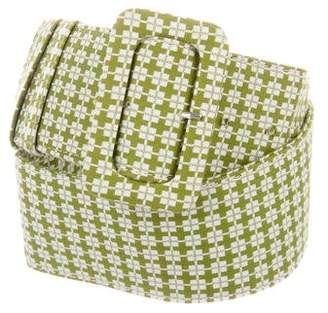 Marni Woven Waist Belt