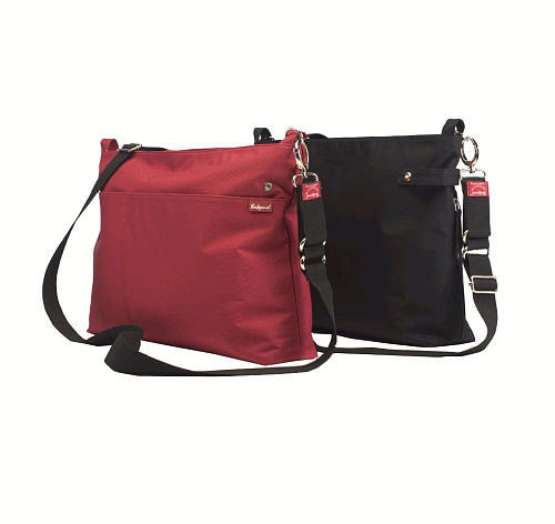Babymel X2 Diaper Bag - Black/Red