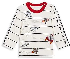 Catimini Baby's & Little Boy's Spaceship Cotton Tee