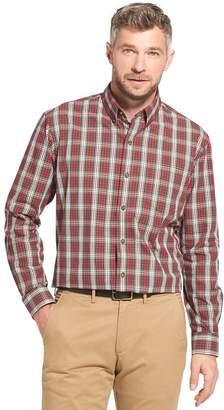 Arrow Men's Trail Blazer Classic-Fit Plaid Button-Down Shirt