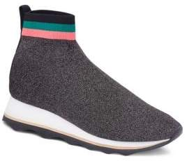Loeffler Randall Scout Knit Platform Sneaker