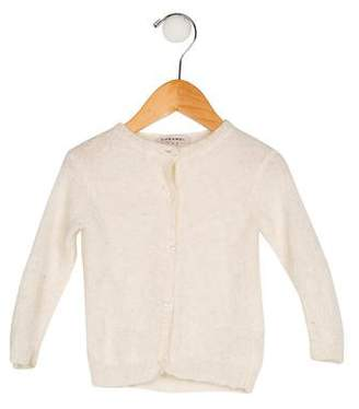 Caramel Baby & Child Girls' Alpaca Button-Up Cardigan