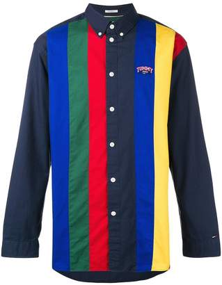 Tommy Jeans retro striped shirt