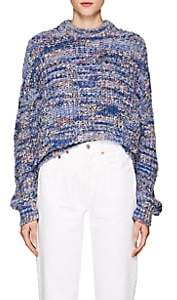 Acne Studios Women's Zora Oversized Sweater - Blue Mix
