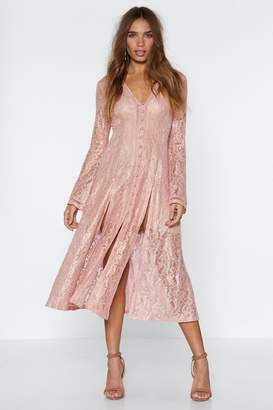 Nasty Gal It's Coming From a Good Lace Dress