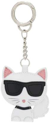Karl Lagerfeld Choupette cat keychain