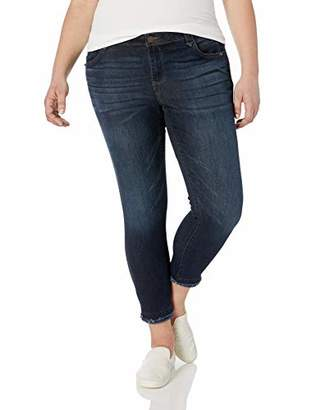 5db8d086a75f2e Democracy Women's Plus Size Ab Solution Ankle Skimmer
