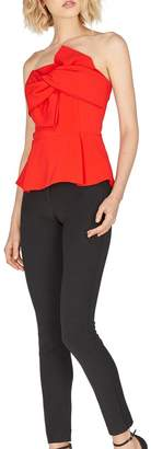 Adelyn Rae Rozina Woven Strapless Bow Top