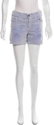 Roseanna Mid-Rise Corduroy Shorts