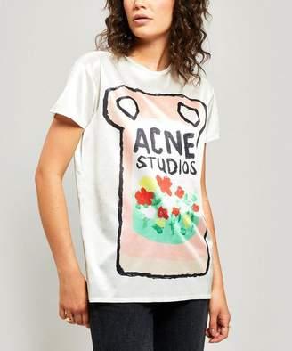 Acne Studios Erry Ceramic-Print T-Shirt