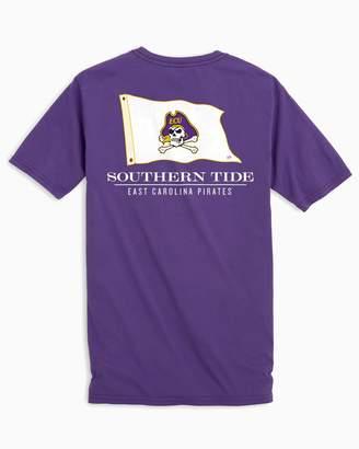 Southern Tide Gameday Nautical Flags T-shirt - East Carolina University