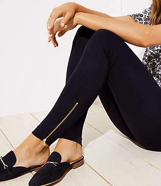LOFT Leggings in Ankle Zip