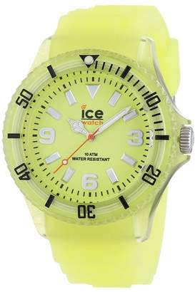 Ice Watch Ice-Watch Men's Ice-Glow GL.GY.B.S.11 Silicone Analog Quartz Watch with Dial