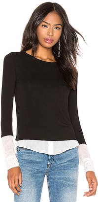 Bailey 44 I'm So Excited Sweater Knit Blouse