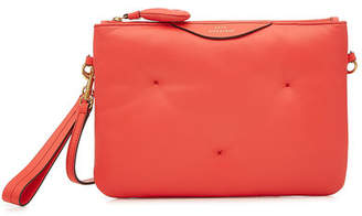 Anya Hindmarch Chubby Crossbody Leather Shoulder Bag