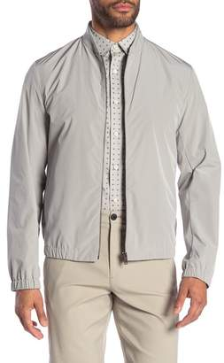 Theory Carlin Peached Stand Collar Jacket
