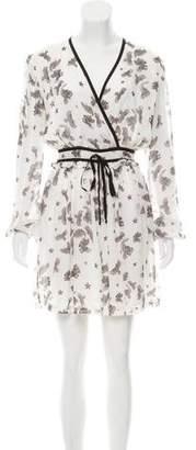 Just Cavalli Printed Mini Dress w/ Tags