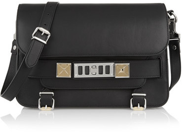 Proenza Schouler - The Ps11 Classic Leather Shoulder Bag - Black