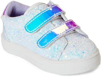 Nina Toddler Girls) White Gizella Glitter Sneakers