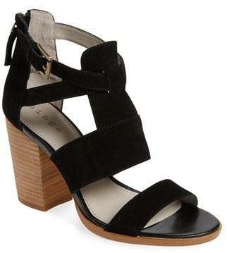 Women's Hinge 'Cora' Block Heel Sandal $89.95 thestylecure.com