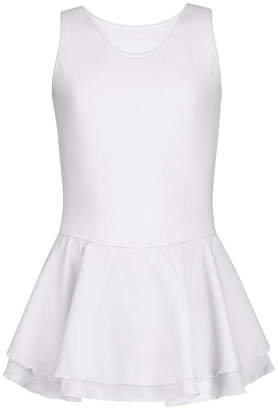 Capezio Little and Big Girls Double Layer Skirt Tank Dress