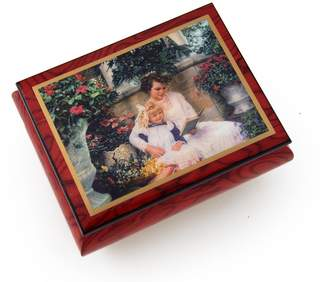 "Ercolano MusicBoxAttic Very Special Radiant Mother Music Box - ""A Time Together"" by Sandra Kuck - Wedding Song (There is Love)"