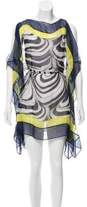 Diane von Furstenberg Silk Swimwear Cover-Up
