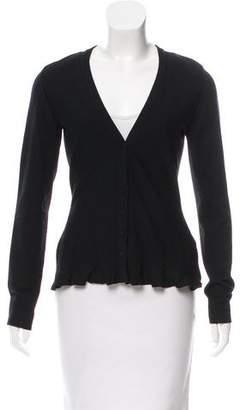Alaia Long Sleeve Button-Up Cardigan