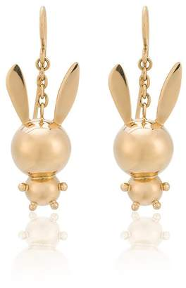 Natasha Zinko double bunny earrings