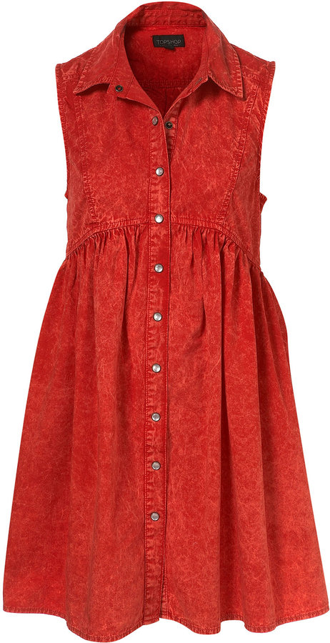 Acid Wash Swing Dress