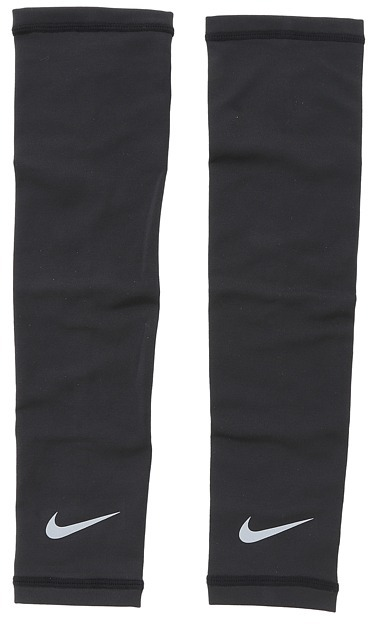 Nike Lightweight Running Sleeves (Black/Silver) - Accessories