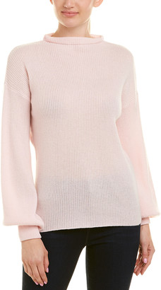 Qi Funnel Neck Cashmere Sweater