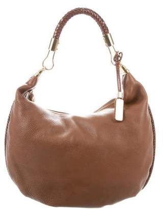 1acce6c2ad0d Michael Kors Leather Skorpios Hobo