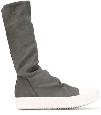 Rick Owens sneaker style calf boots