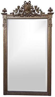 One Kings Lane Vintage Neoclassical-Style Giltwood Mirror