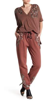 Religion Trance Embroidered Jogger
