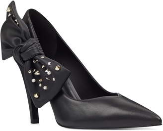 a6c0c5b2026 Nine West Quotate Studded Bow Pump