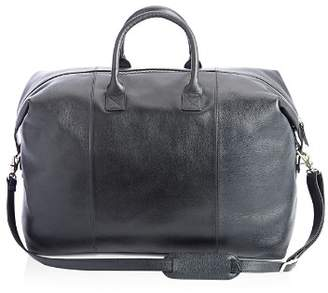 Fallon ROYCE New York Leather Weekender Duffel Bag