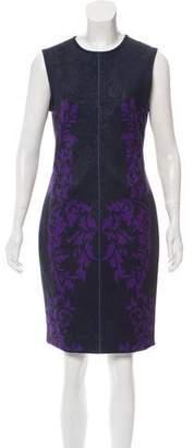 Yigal Azrouel Printed Midi Dress w/ Tags