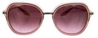 Barton Perreira Leilani Round Sunglasses