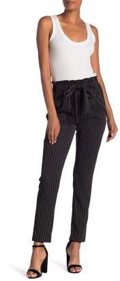 Style Rack Pinstripe High Waist Pants