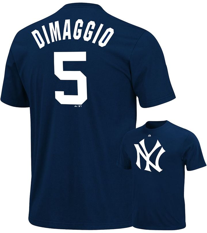 New York Yankees Majestic joe dimaggio cooperstown tee