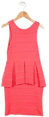 Milly Girls' Knit Sleeveless Dress